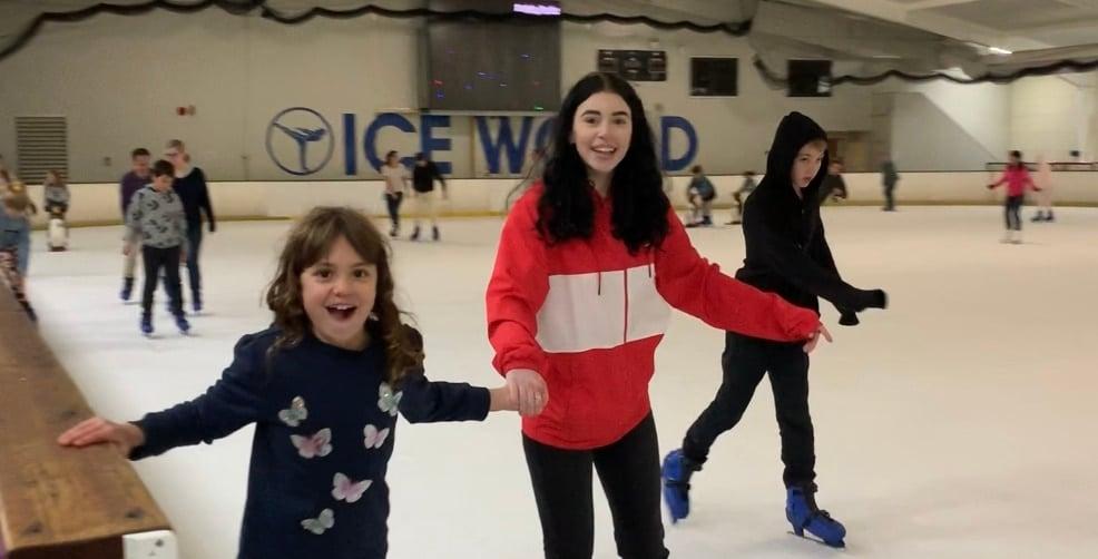 Ice skating Brisbane at Boondall