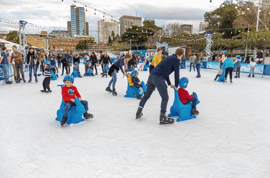 Toowoomba Skating At Festival