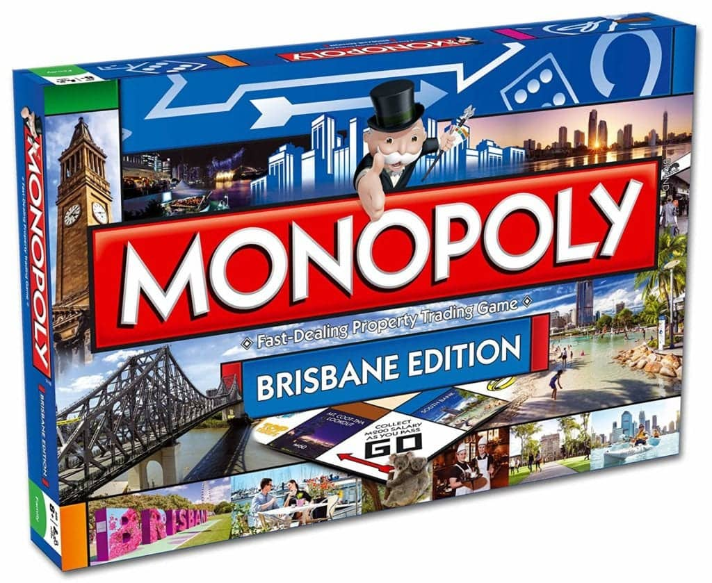 Family friendly Brisbane Monopoly game