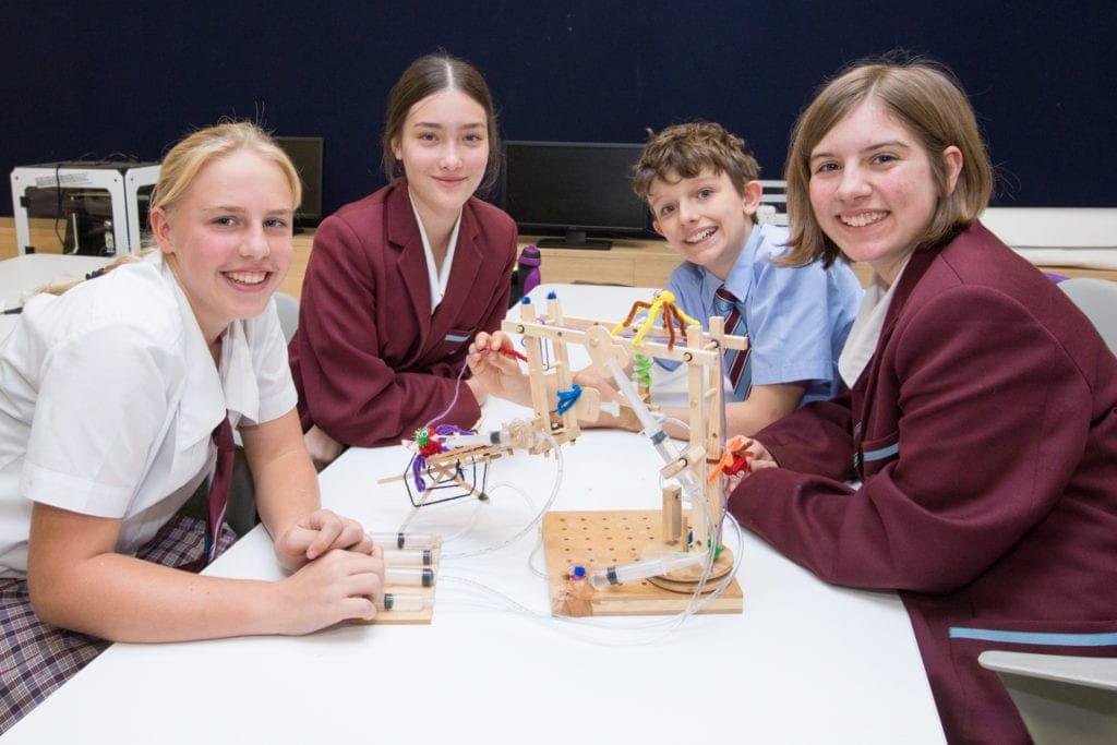 Ormiston College - opportunities to create
