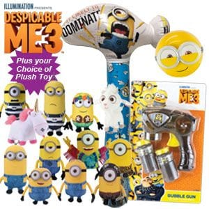 Despicable Me 3 Showbag