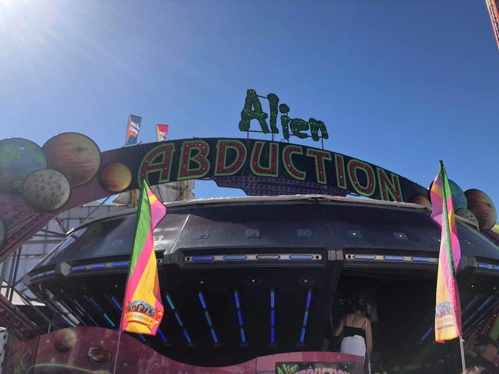Alien Abduction Ride EKKA