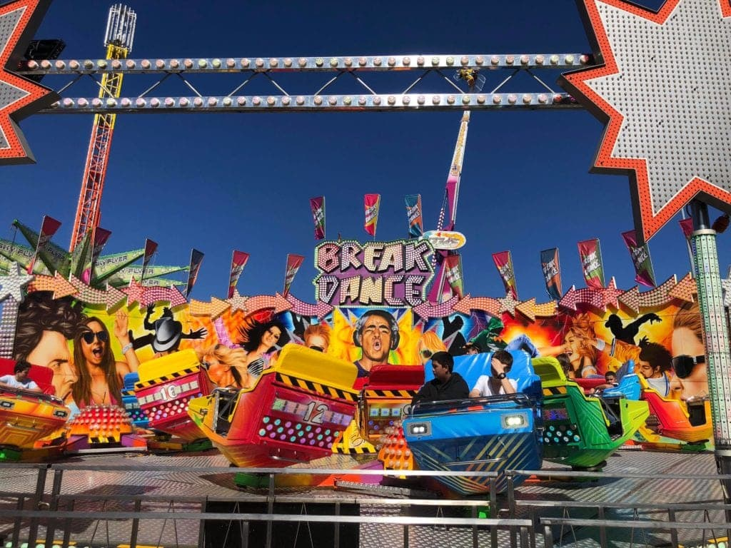 Break Dance Ride EKKA