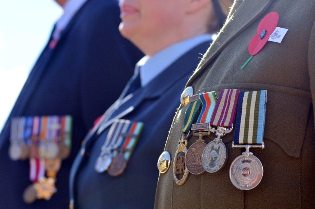 anzac day toddlers medals