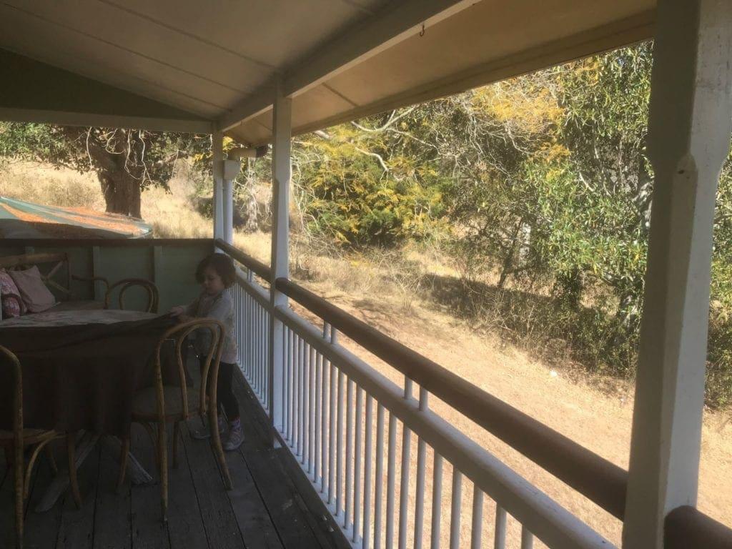 cedar glen verandah