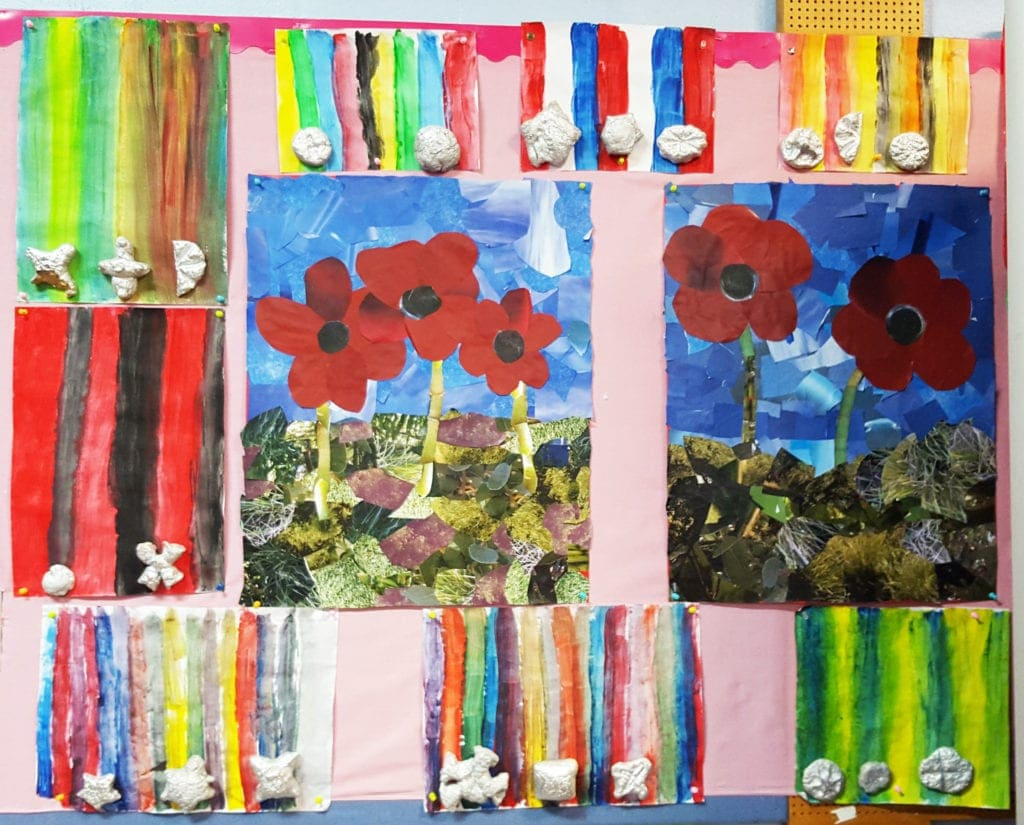 ANZAC Day Craft medals 2