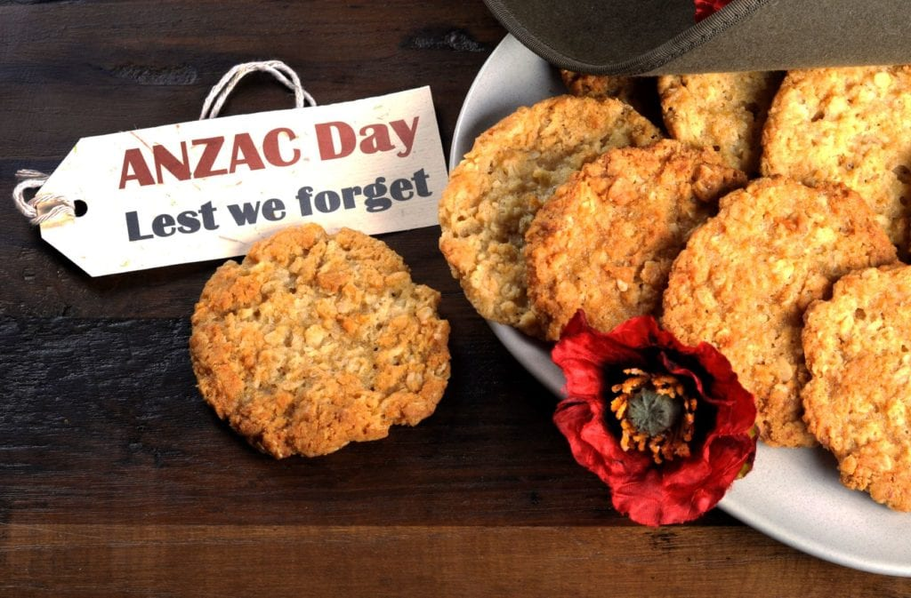 anzac biscuits lest we forget