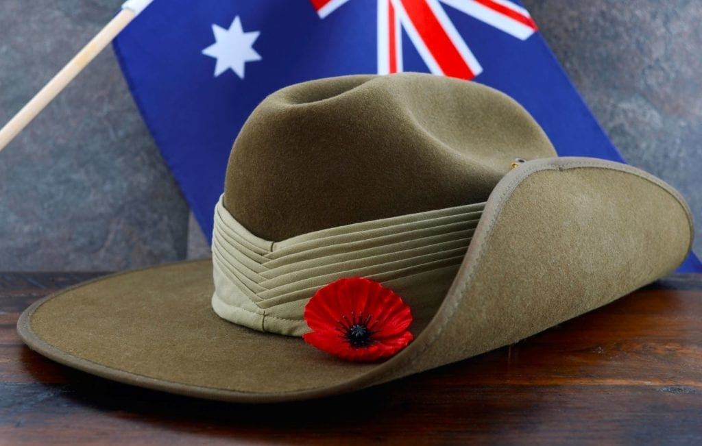 anzac day songs hat