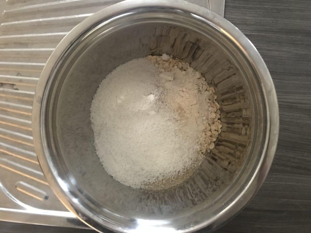 anzac biscuits dry mixture