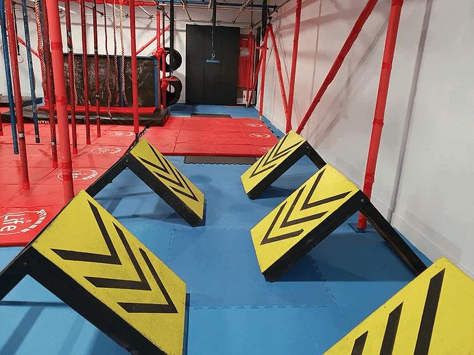 Terrain Training Ninja Central Ninja Course