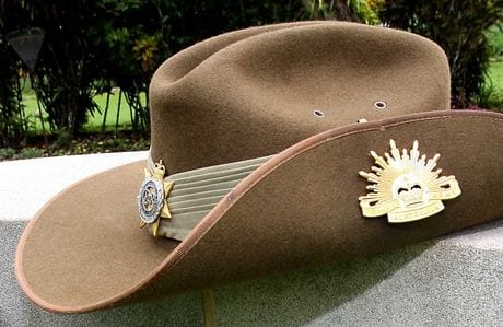ANZAC Day poems - slouch_hat