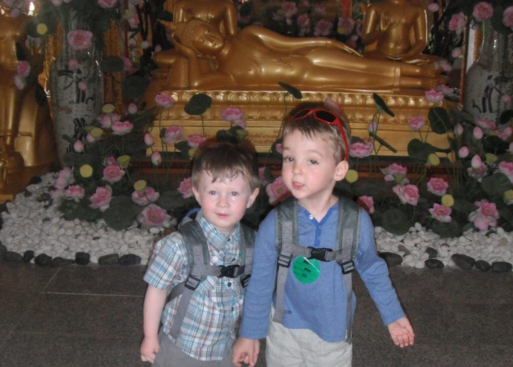 temples to visit with kids