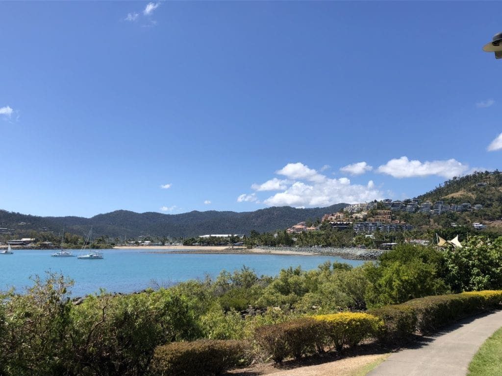 The boardwalk - Airlie Beach with kids