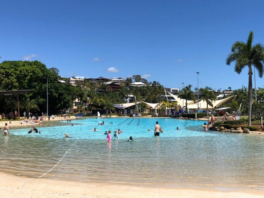 Lagoon Airlie Beach with kids