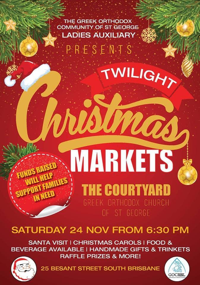 Twilight Christmas Markets Brisbane