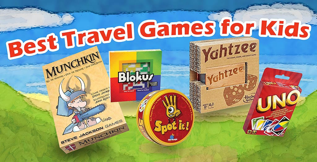 travel games for kids featured