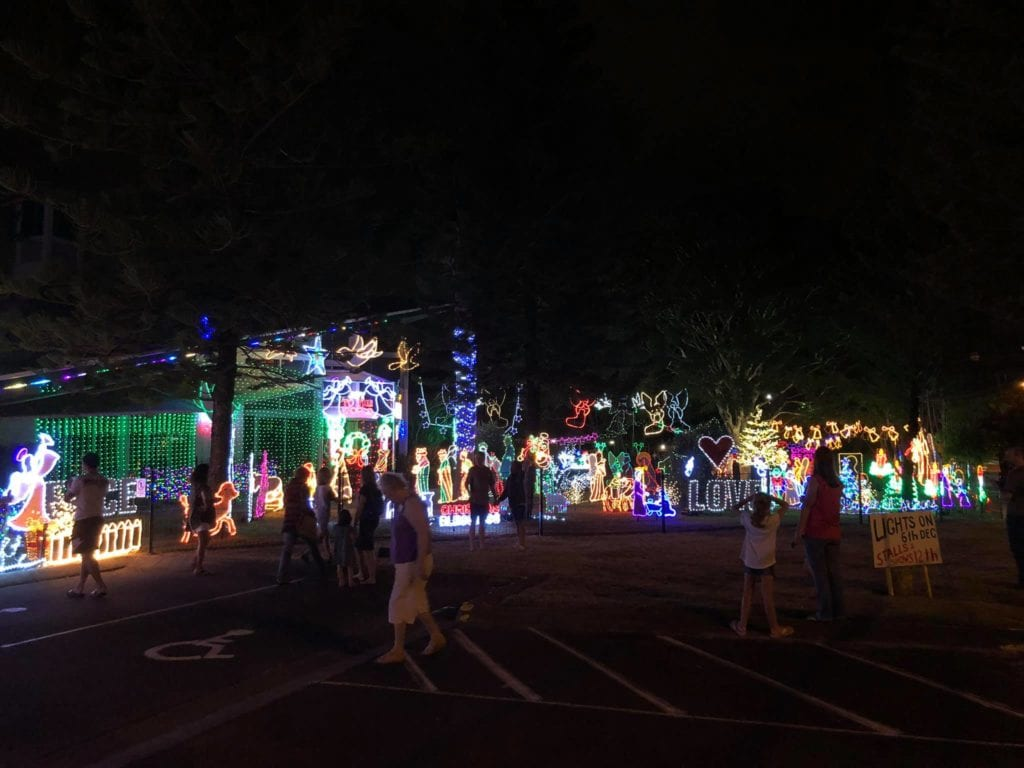 Best Christmas Lights - Church in Deagon — in Brisbane, Queensland, Australia.