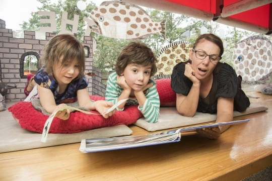 Story time at SLQ