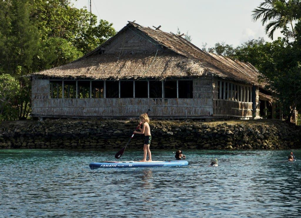 solomon islands paddle board
