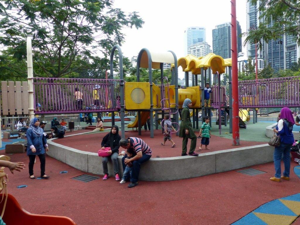 favourite playgrounds KLCC