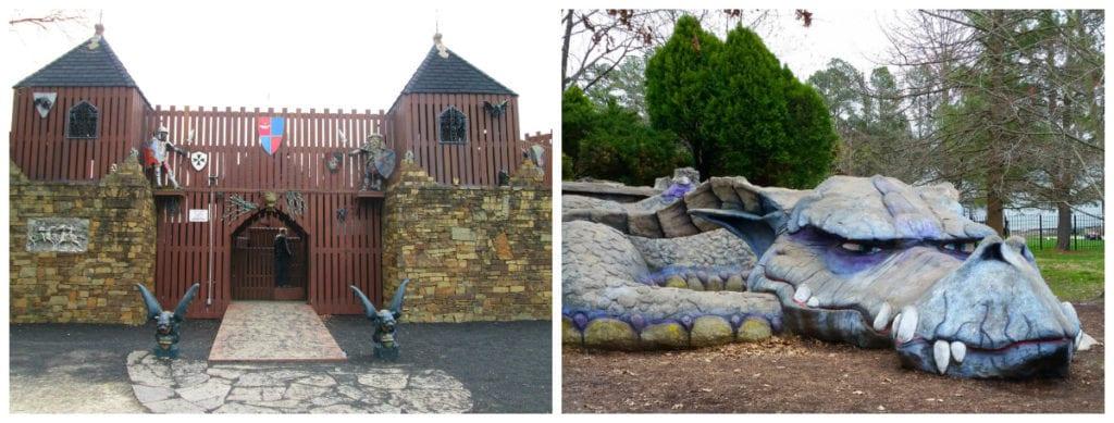 favourite playgrounds rochman castle