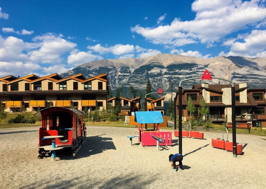 favourite playgrounss canmore