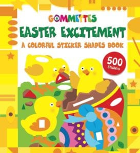 Easter Excitement Sticker Book - Non-Chocolate Easter Gifts for Kids