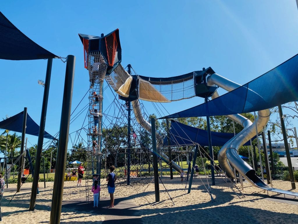 things to do at Airlie Beach with kids - playground