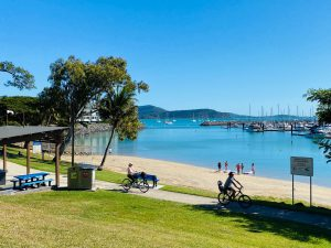 things to do in Airlie Beach with kids - Boathaven Beach