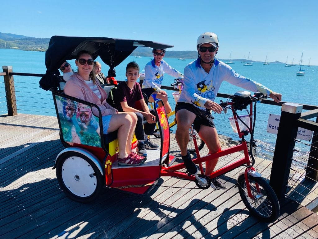 things to do at Airlie Beach with kids - Tuk Tuks
