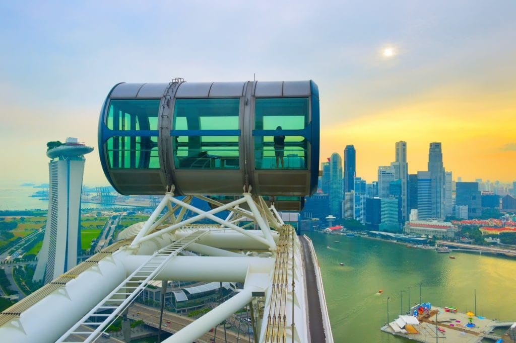 Singapore Flyer things to do in singapore with kids