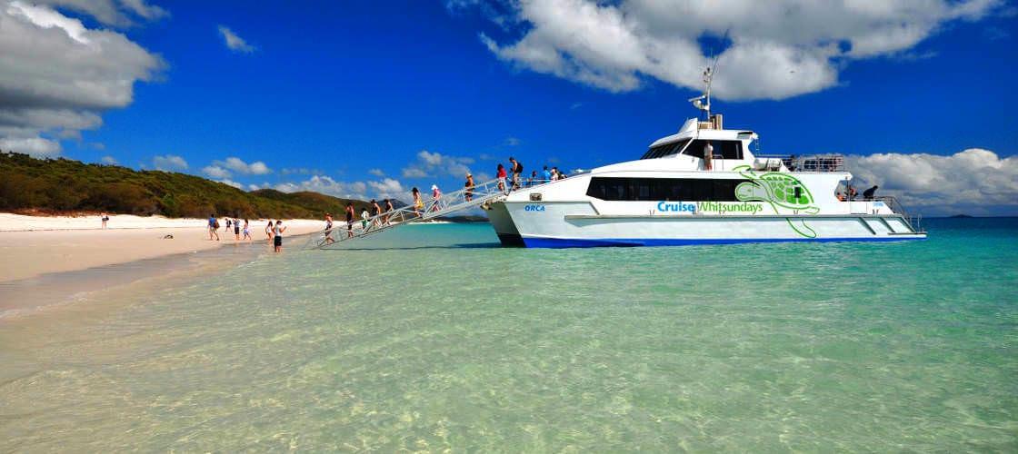 Whitehaven Beach then Hamilton Island Tour