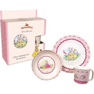 Bunnykins 3-Piece Set - Non-Chocolate Easter Gifts for Kids