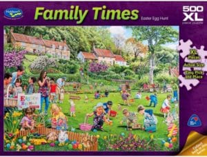 Easter Jigsaw Puzzle - Non-Chocolate Easter Gifts for Kids