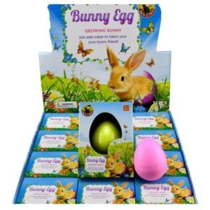 Growing Bunny Egg - Non-Chocolate Easter Gifts for Kids