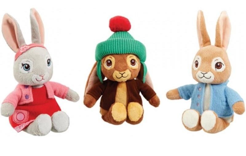 Peter Rabbit Easter Plush Toy - Non-Chocolate Easter Gifts for Kids