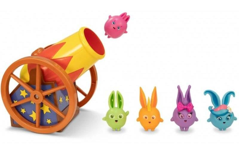 Sunny Bunnies Bunny Blast Playset - Non-Chocolate Easter Gifts for Kids