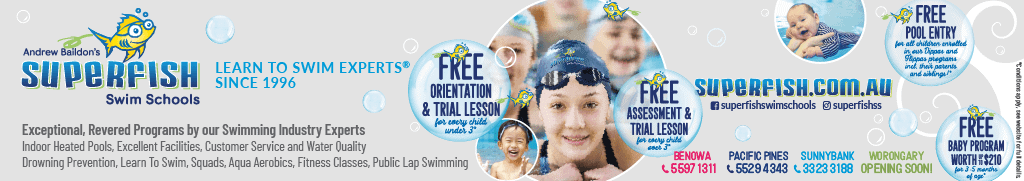 Superfish Swim Schools Banner