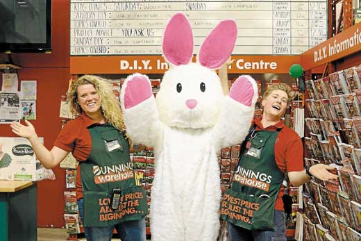 Easter Family Night @ Bunnings | Families Magazine