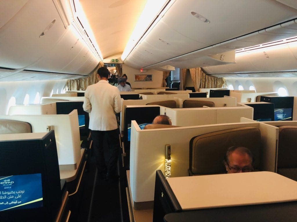 how to get a business class upgrade