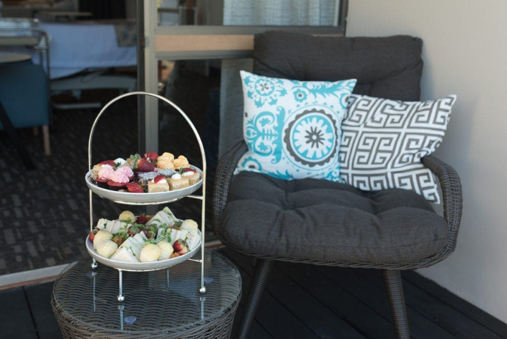 Complimentary high tea at Sunnybank Private Maternity