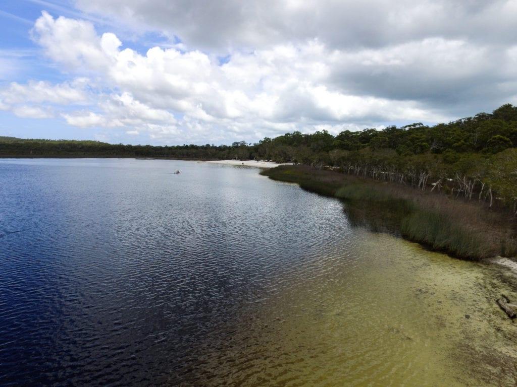 Brown Lake North Stradbroke