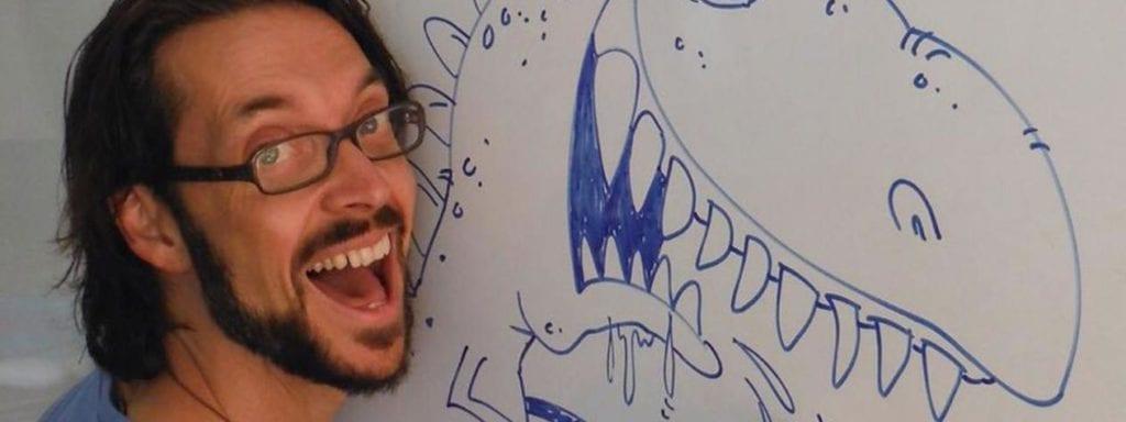 Cartoon Dave Upper Mount Gravatt