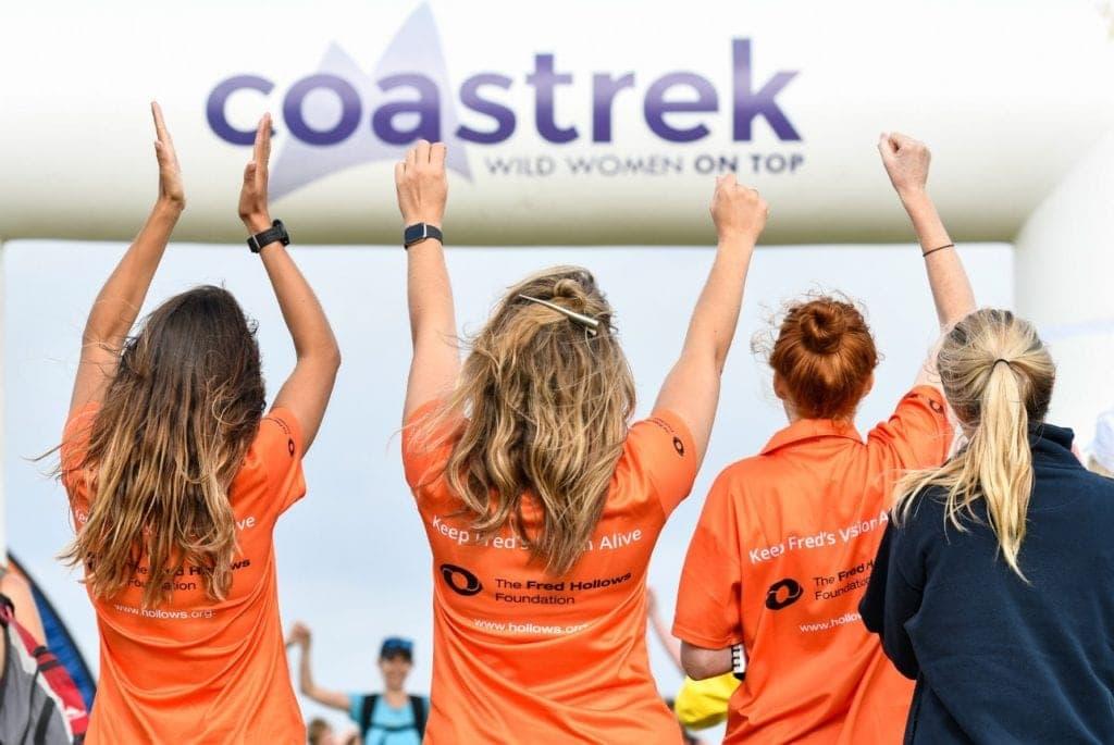 Coastrek fundraising