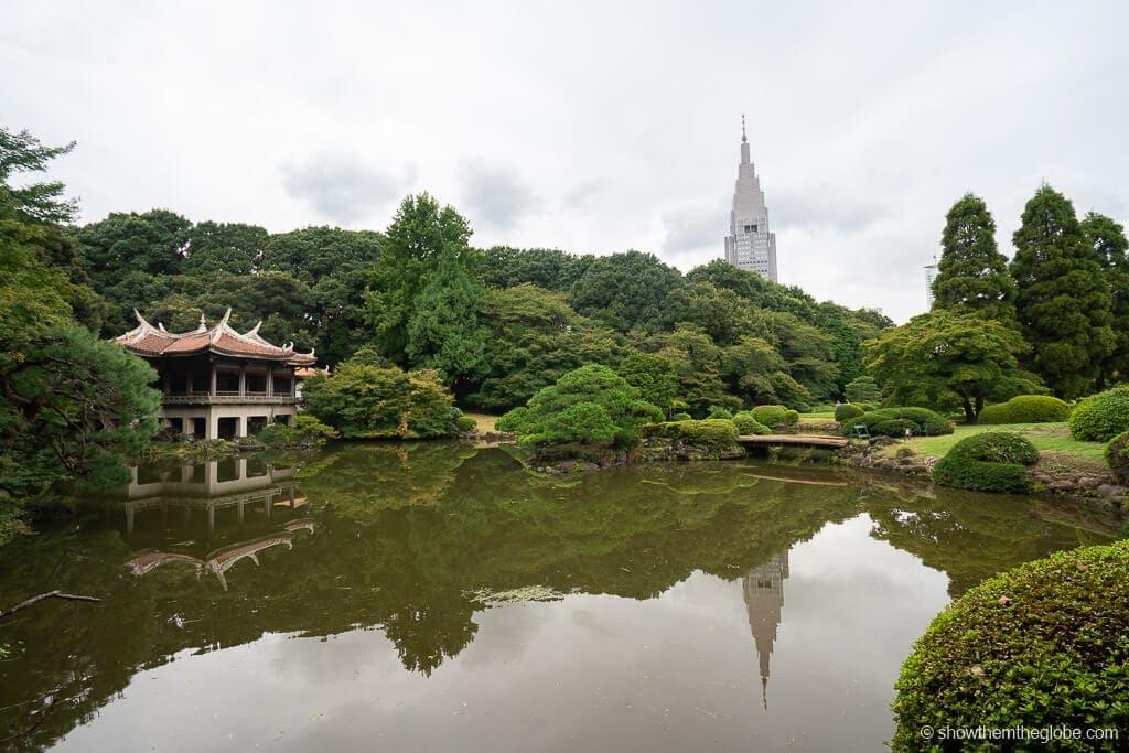 gardens tokyo with kids