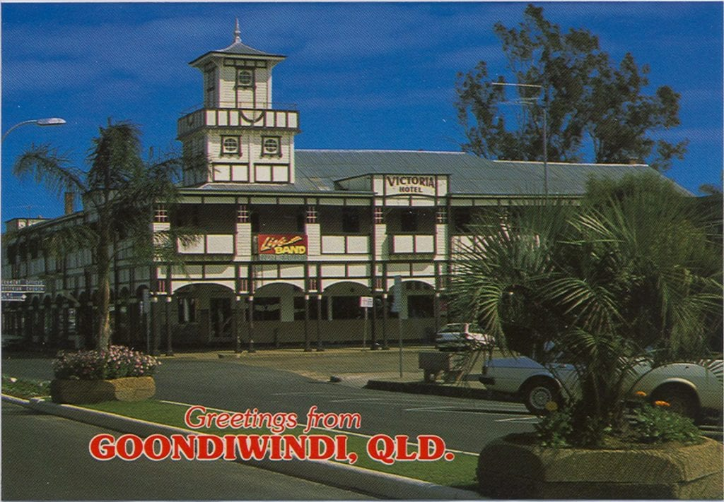 Greetings from Goondiwindi