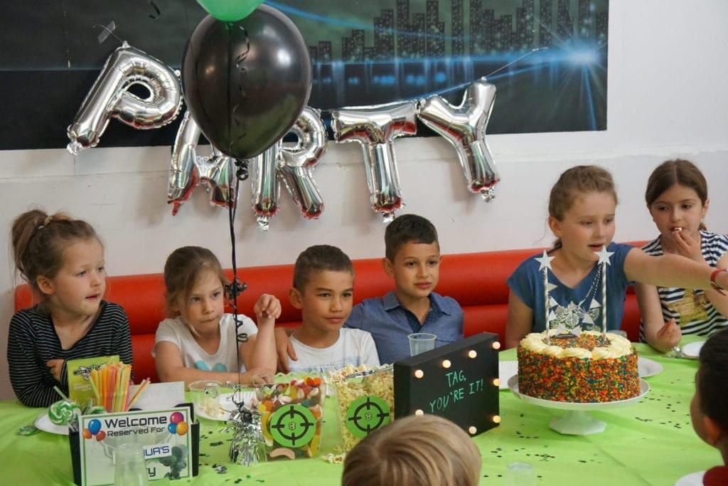 Laserzone party