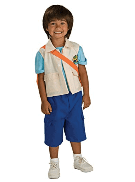 Nickelodeon Diego Book Week Costume
