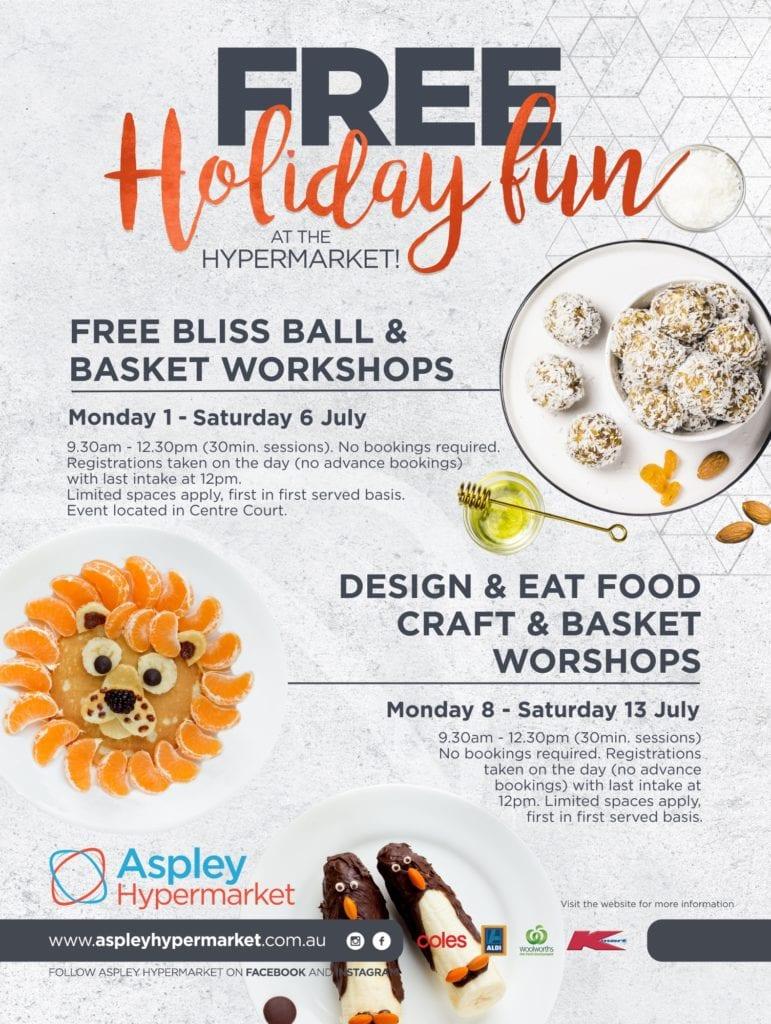 Bliss Ball and Basket Workshops   Aspley