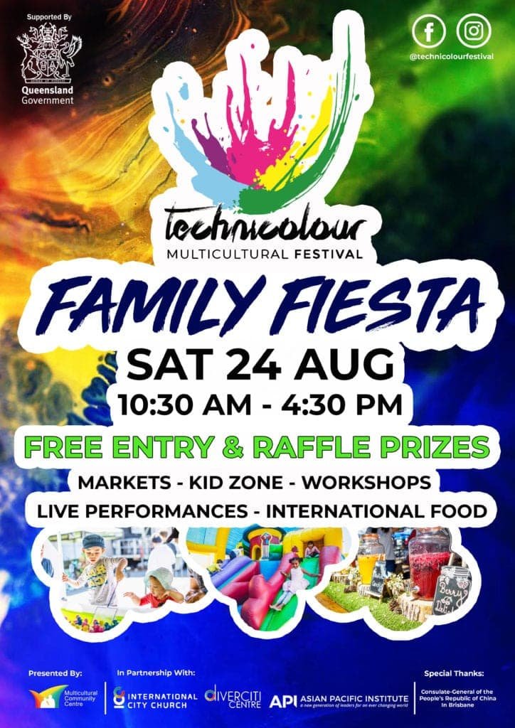 Technicolour Multicultural Festival Family Fiesta